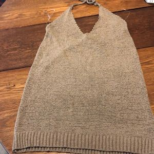 🔥Windsor Royalty Halter Sweater Top NWT🔥